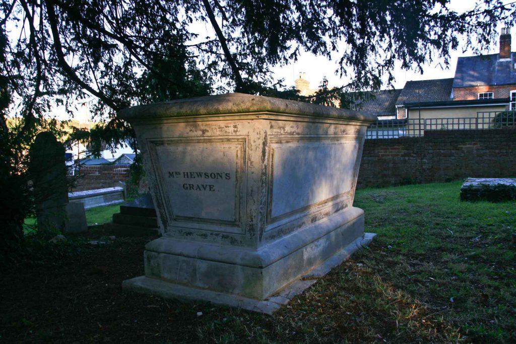 Mrs Hewson's Grave