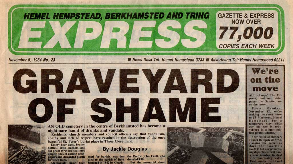 1980: Vandalism headlines