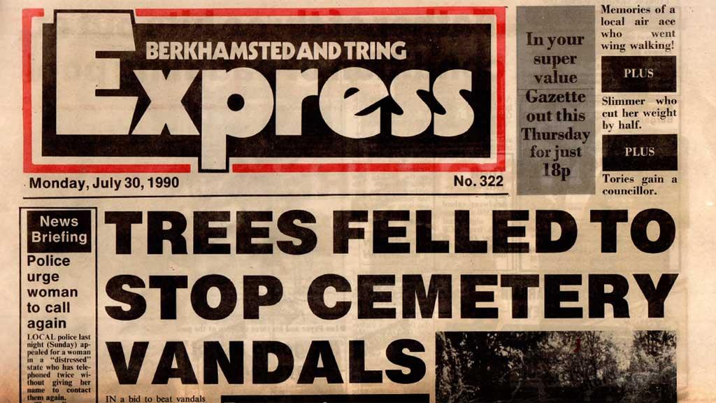 1990: Trees Felled