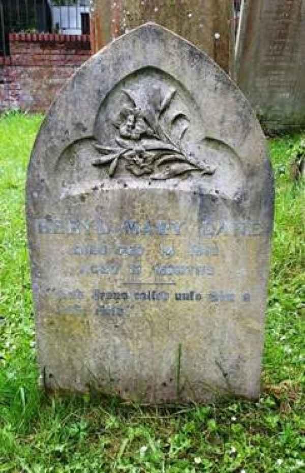 Beryl Mary Lane (242) plot